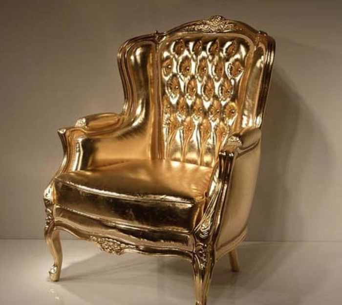 gold-chair