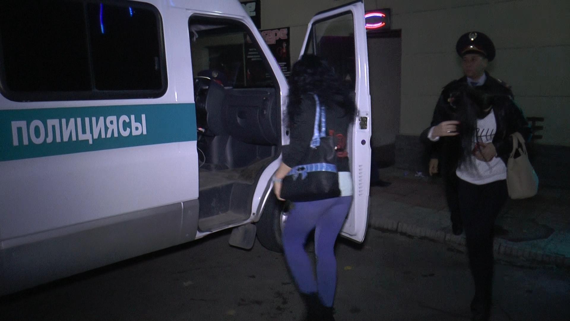 фоторепортаж полиция задержала проституток