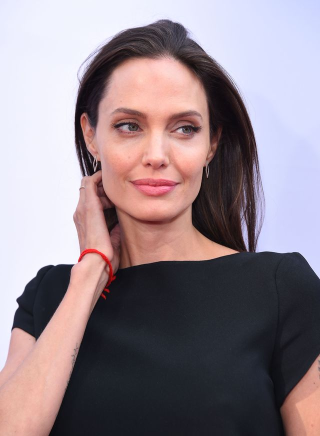 Jan. 16, 2016 - Hollywood, California, U.S. - Angelina Jolie arrives for the premiere of the film 'Kung Fu Panda 3' at the Chinese theater. (Credit Image: Global Look Press via ZUMA Press)